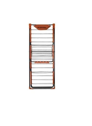 Cıngıllıoğlu Cıngıllıoğlu Cc-560 Erika Çift Katlı  Çamaşır Askısı Renkli